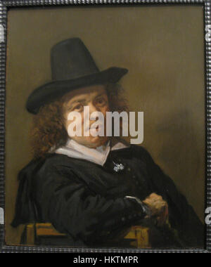 Frans Post, circa 1655, by Frans Hals (1582-1666) - IMG 7412 - Stock Photo