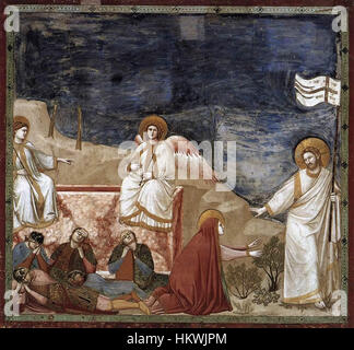 Image result for giotto's resurrection