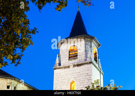 Saint-Francois-de-Sales Cathedral in Chambery. Chambery, Auvergne-Rhone-Alpes, France. - Stock Photo