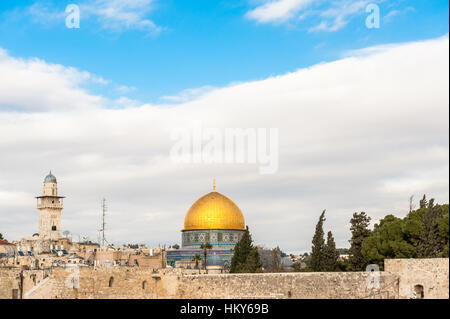 Israel, Jerusalem, temple mount - Stock Photo