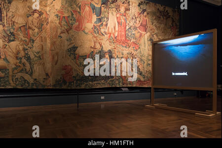 V&A, London, UK. 31st January, 2017. A collaboration between the Goethe-Institut London and the V&A in partnership - Stock Photo