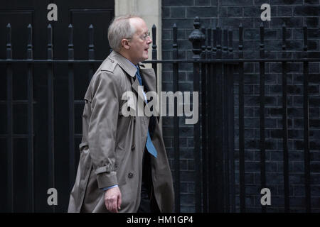 London, UK. 31st January, 2017. Myron Ebell, the controversial climate change sceptic and adviser to President Donald - Stock Photo