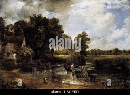 John Constable - The Hay-Wain - WGA5191 - Stock Photo