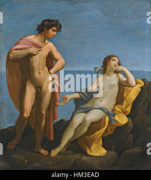 Guido Reni - Bacchus and Ariadne - Stock Photo