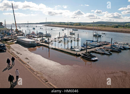 Topsham in Devon - Stock Photo