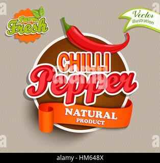 mexican food logo food label or sticker concept of