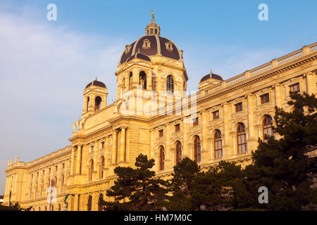Austria, Vienna, Museum of Natural History on Maria Theresa Square - Stock Photo
