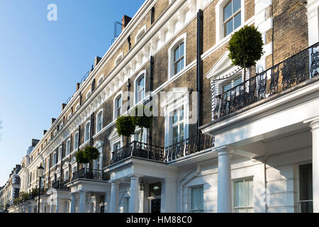 London Property in South kensington UK - Stock Photo