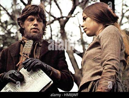 Kelly, der Bandit aka. Ned Kelly, UK 1970 Director: Tony Richardson Actors/Stars: Mick Jagger, Clarissa Kaye-Mason, - Stock Photo
