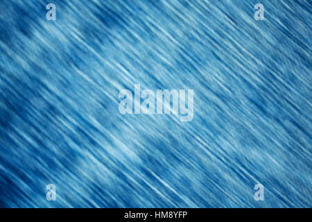 Motion blurred blue abstract background. - Stock Photo