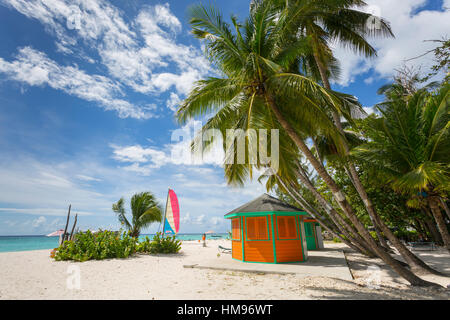Worthing Beach, Christ Church, Barbados, West Indies, Caribbean, Central America - Stock Photo