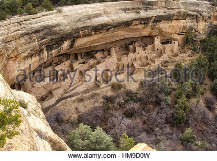 Mesa Verde National Park, Colorado - Stock Photo