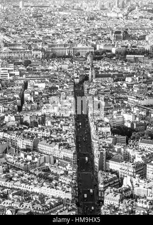 Paris from above - Stock Photo
