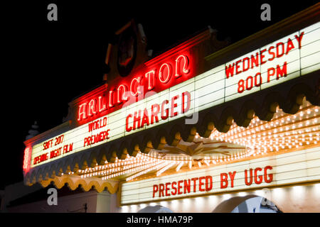 Santa Barbara, California, USA. 1st February 2017. Atmosphere at the 32nd annual Santa Barbara International Film - Stock Photo