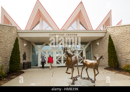Beckley, West Virginia - Tamarack: A West Virginia artisan retail center. The center also has artist studios and - Stock Photo