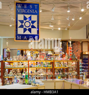 Beckley, West Virginia - Tamarack: A West Virginia artisan retail center. The center also has artist studios and - Stock Photo