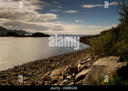Sound of Arisaig, Invernesshire, Western Highlands, Scotland - Stock Photo