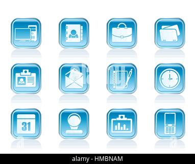 Web Applications,Business and Office icons, Universal icons - Stock Photo