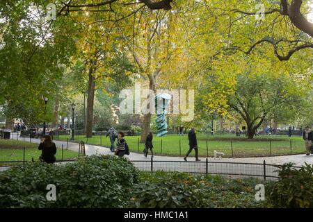 Madison Square Park, Fifth Avenue, New York, NY, USA - Stock Photo