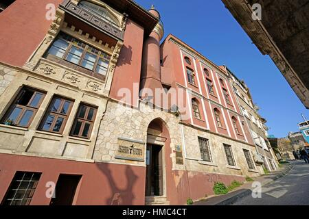 Former House of pilgrims from the Uzbeks of Bokhara (1692). Istanbul. Turkey - Stock Photo