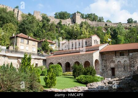 The Holy Forty Martyrs Monastery, The Royal Monastery, Veliko Tarnovo, Bulgaria. - Stock Photo