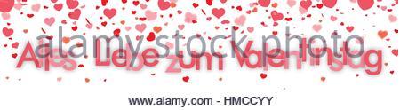 ... German Text U0027Alles Gute Zum Valentinstagu0027, Translate U0027Happy Valentineu0027s  Dayu0027.