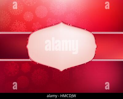 Christmas card design template.  + EPS8 vector file - Stock Photo