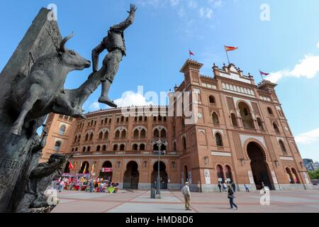 Torero , Bullfighting Arena Of Las Ventas , Torero In Costume Traje Stock Pho...
