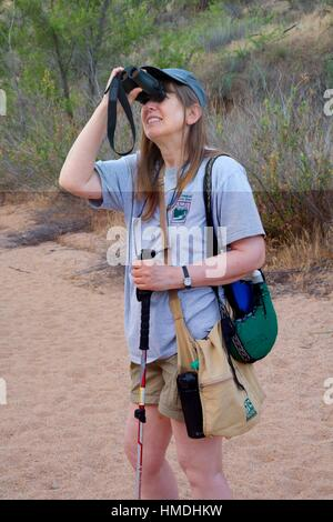 Badger Springs Trail, Agua Fria National Monument, Arizona. - Stock Photo
