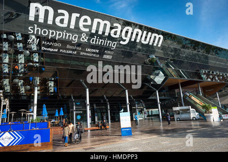 Mare Magnum, shopping mall and entertainment centre, Port Vell, Barcelona, Spain. - Stock Photo