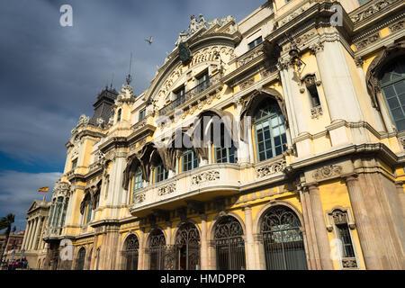 Port de Barcelona, Port Vell, Barcelona, Catalonia, Spain - Stock Photo