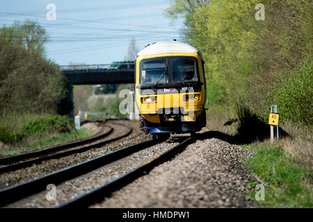 First Great Western train - Stock Photo
