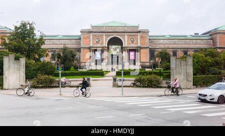 COPENHAGEN, DENMARK - SEPTEMBER 10, 2011: National Gallery of Denmark (Statens Museum for Kunst) in Copenhagen. - Stock Photo