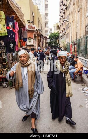 Khan El Khalili, Islamic Quarter, Cairo, Egypt. - Stock Photo