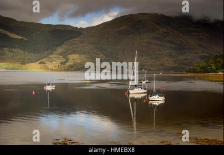 Ballachulish , Highlands, Scotland, United Kingdom - Stock Photo