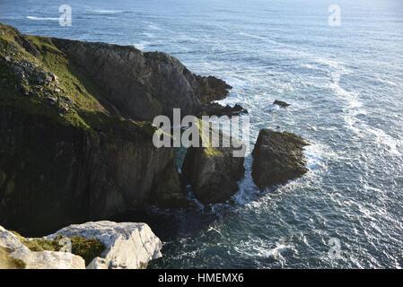 Coast off the Achill Island - Ireland - Stock Photo