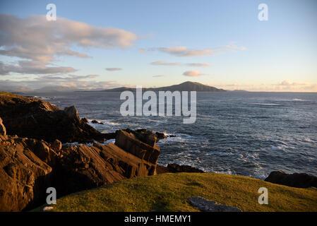 Clare Island off the Achill Island - Ireland - Stock Photo