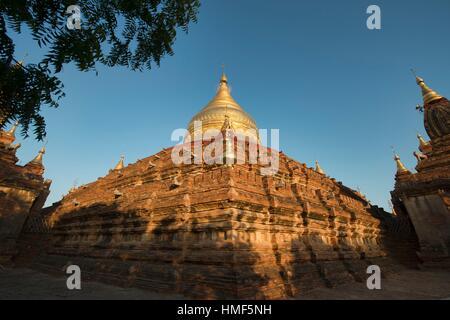 Dhammayazika temple in Bagan, Myanmar. - Stock Photo