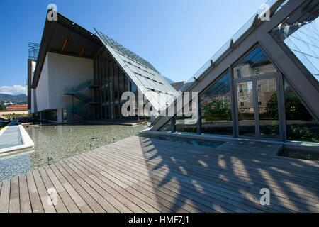 MuSe Science Museum, Trento, Italy - Stock Photo