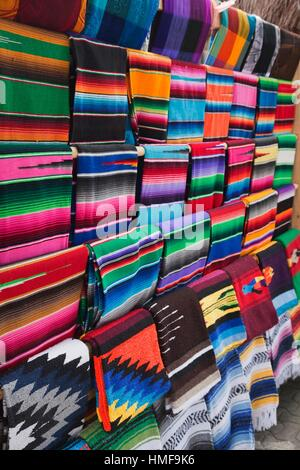 Colorful mexican rugs for sale stock photo royalty free for Colorful rugs for sale