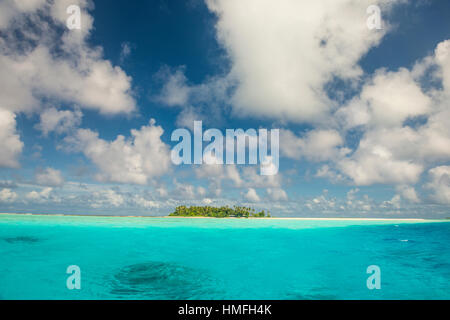 Lagoon of Wallis, Wallis and Futuna, Pacific - Stock Photo