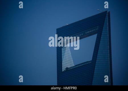 Shanghai World Financial Center - Stock Photo