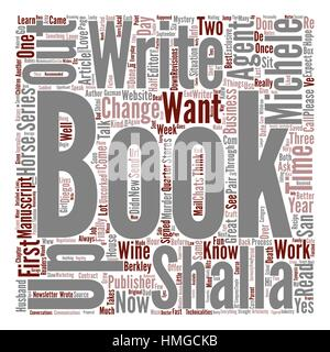 A Publisher Wants My Book Now What text background word cloud concept - Stock Photo