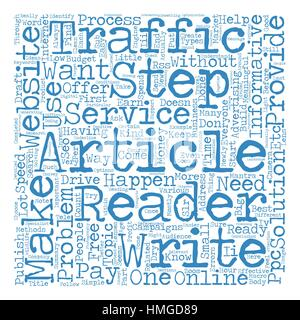 Build Website Traffic For Free Word Cloud Concept Text Background - Stock Photo