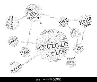 Build Website Traffic For Free text background word cloud concept - Stock Photo