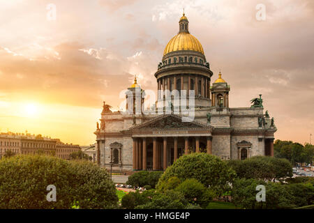 St; Petersburg, St. Isaacs Cathedral - Stock Photo