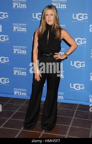 Santa Barbara, CA, USA. 30th Jan, 2015. 30 January 2015 - Santa Barbara, California - Jennifer Aniston. 30th Annual - Stock Photo