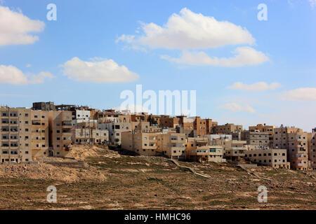 village of Kerak, Jordan - Stock Photo