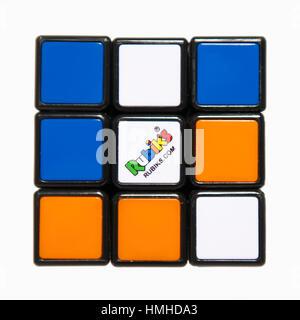 Rubik's Cube Puzzle - Stock Photo