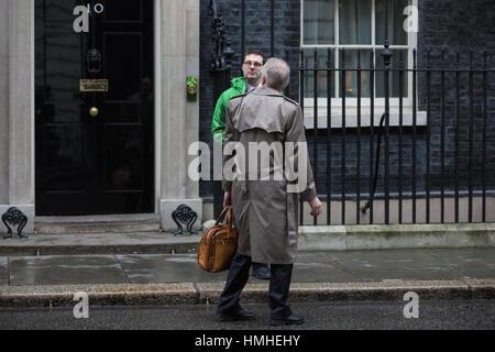 London, UK. 31st January, 2017. Myron Ebell, who led President Trump's Environmental Protection Agency transition - Stock Photo